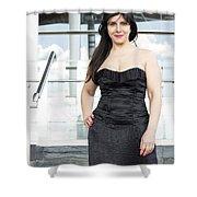 Fashion Shoot Shower Curtain