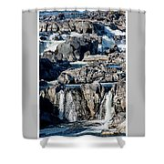 Great Falls Of The Potomac Shower Curtain