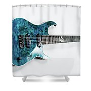 Guitar Shower Curtain