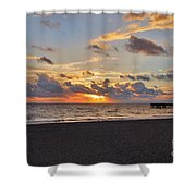 14- Juno Beach Pier Shower Curtain