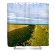 Lindisfarne Castle Shower Curtain