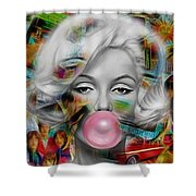 Marilyn Monroe Collection Shower Curtain