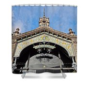 Montevideo, Uruguay Shower Curtain