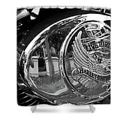 Motorcycle Shower Curtain