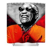 Ray Charles Collection Shower Curtain