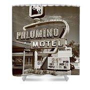 Route 66 - Tucumcari New Mexico Shower Curtain