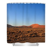Sossusvlei Dunes Shower Curtain