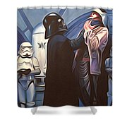 Star Wars Episode 6 Art Shower Curtain
