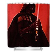 Star Wars Heroes Art Shower Curtain