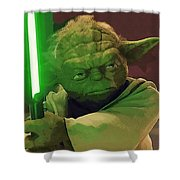 Star Wars Movie Poster Shower Curtain