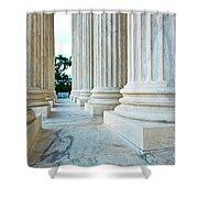 Supreme Court Building Washington Dc Shower Curtain