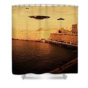 Ufo Sighting Shower Curtain