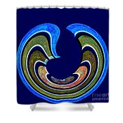 1408 Abstract Thought Shower Curtain