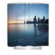 1415 Chicago Shower Curtain