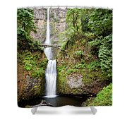 1417 Multnomah Falls Shower Curtain