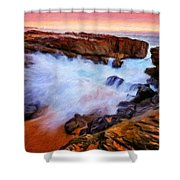 Landscape Paintings Nature Shower Curtain