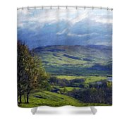 Art Landscape Nature  Shower Curtain