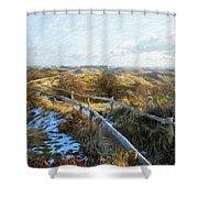 Nature Landscape Jobs Shower Curtain