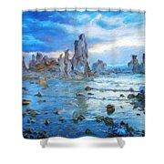 Art Landscape Nature  Shower Curtain