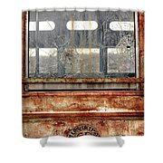 1449 Illinois Trolley Museum Shower Curtain