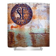 1450 Illinois Trolley Museum Shower Curtain