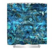 Beneath The Waves Series Shower Curtain