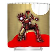 Iron Man Collection Shower Curtain