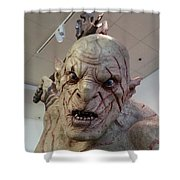 New Zealand - Azog, Lord Of The Rings Shower Curtain