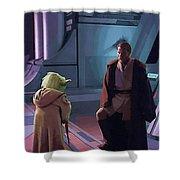 Original Star Wars Poster Shower Curtain