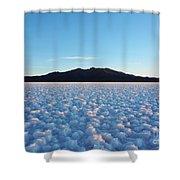 Salar De Uyuni, Bolivia Shower Curtain