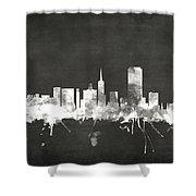 San Francisco City Skyline Shower Curtain