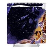 Star Wars Poster Art Shower Curtain