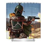 Star Wars The Art Shower Curtain
