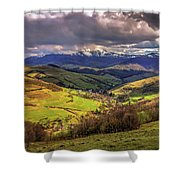 The Land Of Ukraine Shower Curtain
