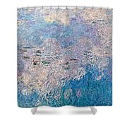The Water Lilies  Shower Curtain