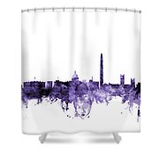 Washington Dc Skyline Shower Curtain