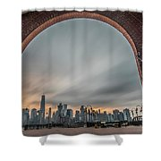 15 Years Later  Archway Of Rememberance Shower Curtain