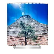 Zion Canyon National Park Utah Shower Curtain