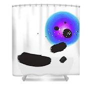 150813aa Shower Curtain