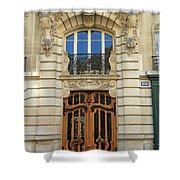 151 Rue De Grenelle Paris Shower Curtain