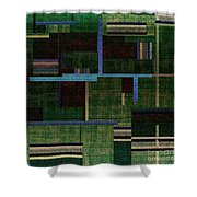 1522 Abstract Thought Shower Curtain