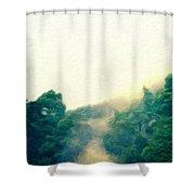 Landscape Art Nature Shower Curtain