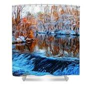 Landscape Nature Pictures Shower Curtain