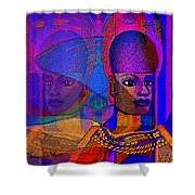 1532 Egyptian  Memories Shower Curtain