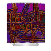 1554 Abstract Thought Shower Curtain