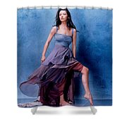 1576 Celebrity Catherine Zeta Jones  Shower Curtain