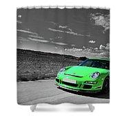 15876 Porsche Shower Curtain