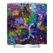16-6 Lambda Sky Shower Curtain