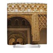 Alcazar Of Seville - Seville Spain Shower Curtain