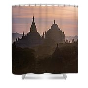 Bagan - Myanmar Shower Curtain